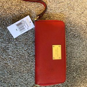 Red Michael Kors Wallet